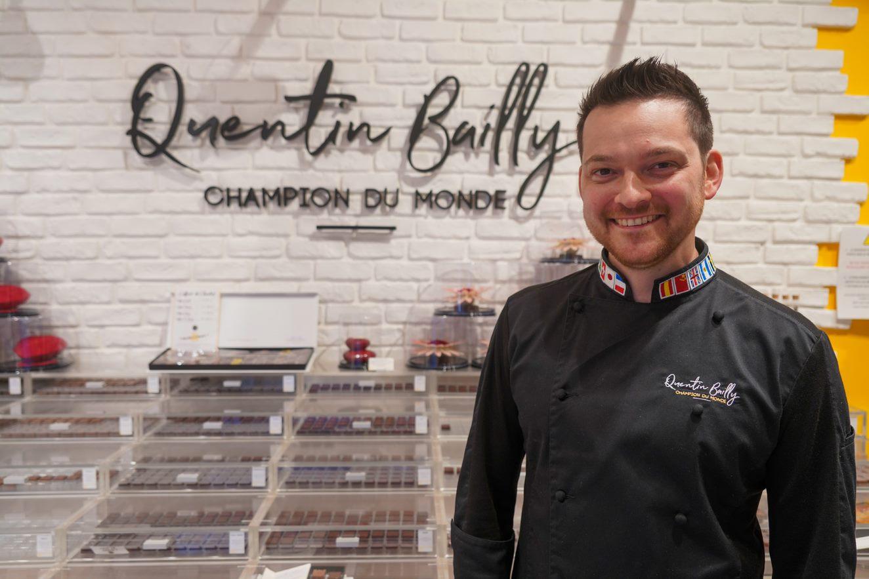 Quentin Bailly, ambassadeur Hello Lille et Champion du monde des chocolatiers