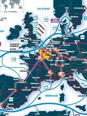 Les HdF au coeur de l'Europe logistique_Euralogistic 2019