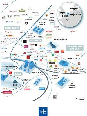 Les acteurs du retail et de la logistique dans la m'tropole lilloise 2020